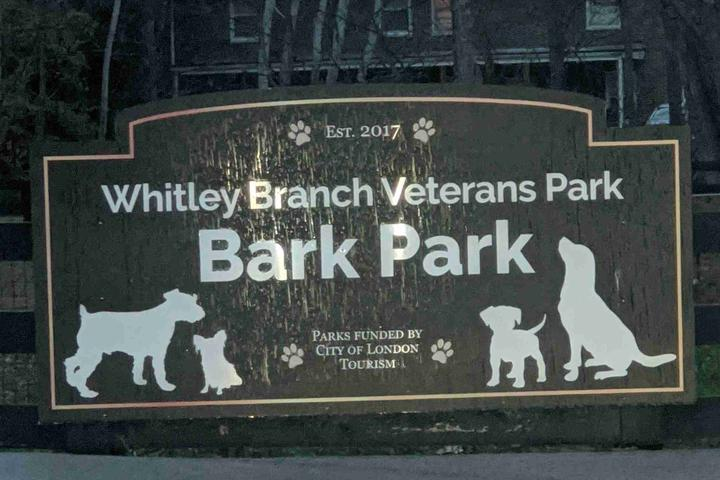 Pet Friendly Whitley Branch Veterans Park Bark Park