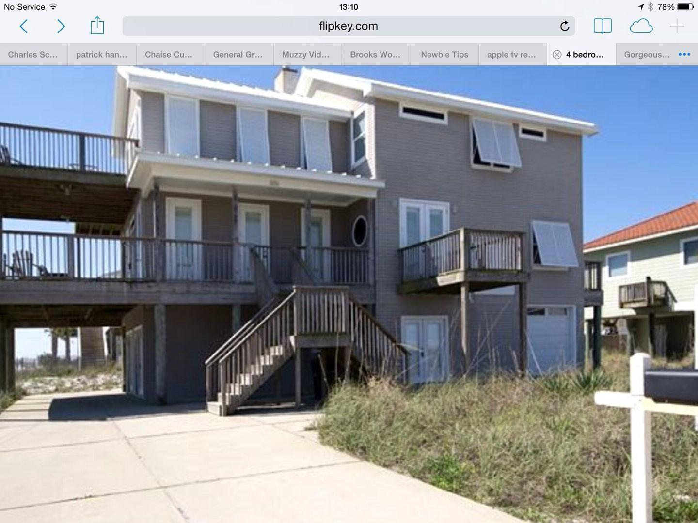 4br beach house with 360 degree views pet policy for House 360 view