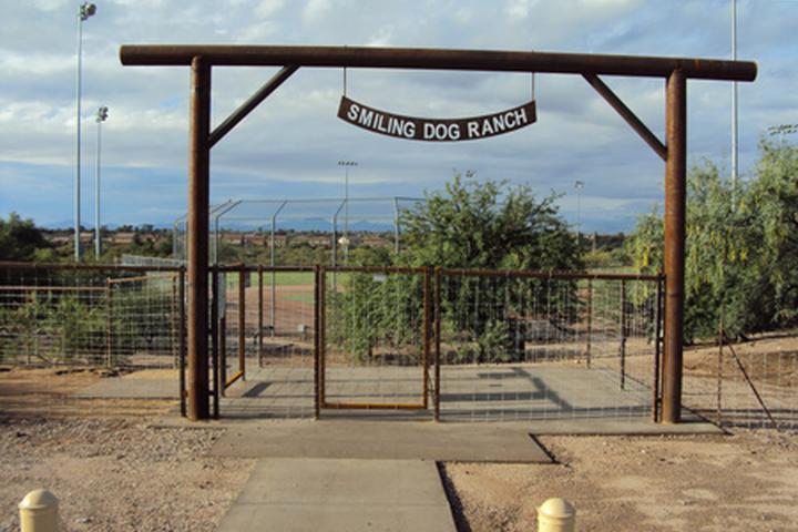 Pet Friendly Smiling Dog Ranch Dog Park at George Mehl Family Foothills Park