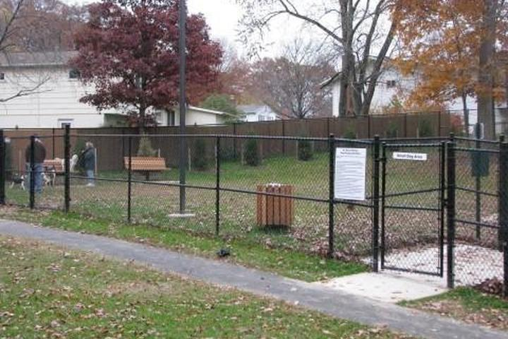 Pet Friendly Dog Playground at Leo E. Wilson Community Park