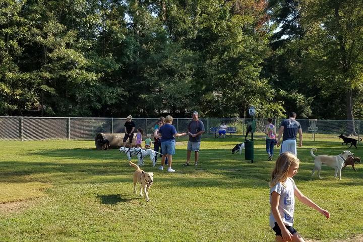 Pet Friendly Cabot Dog Park at Community Pond Park