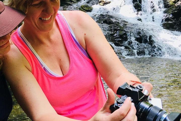 Pet Friendly Stunning Waterfall Hike & Photoshoot