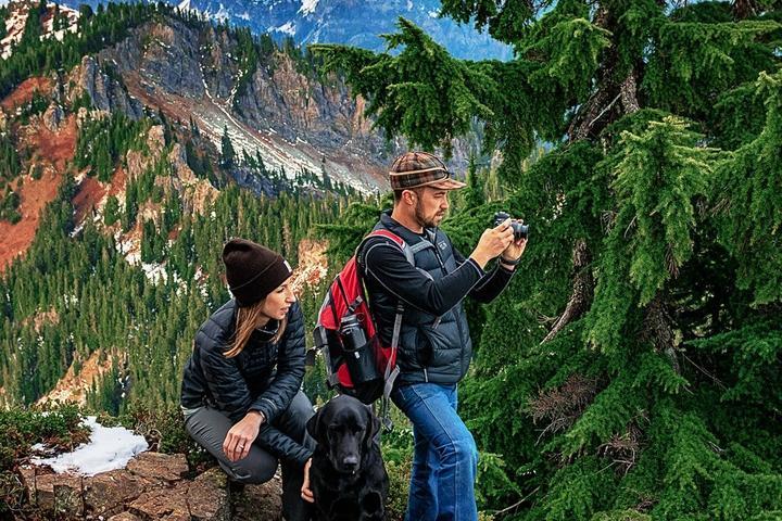 Pet Friendly Mountain Portraits on Mt Margaret