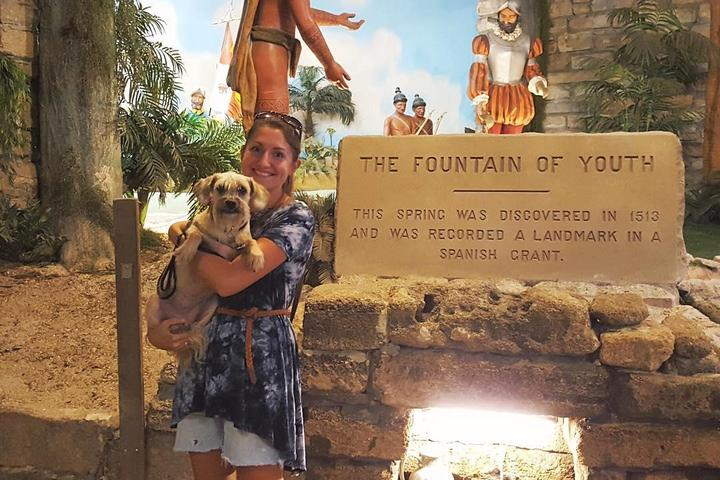 Pet Friendly Fountain of Youth Archaeological Park