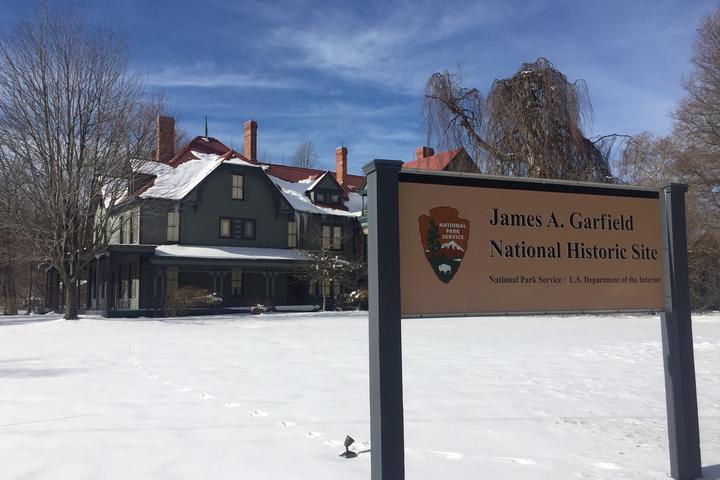 Pet Friendly James A Garfield National Historic Site