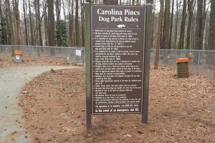 Pet Friendly Carolina Pines Community Dog Park