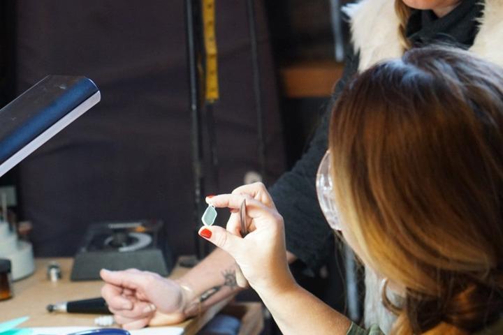 Pet Friendly Create a Sea Glass Pendant w/an Artist