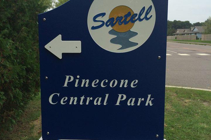 Pet Friendly Pinecone Central Park