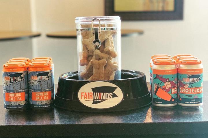Pet Friendly Fair Winds Brewing Company