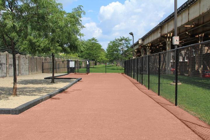 Pet Friendly Challenger Playlot Dog Park at Gill Park