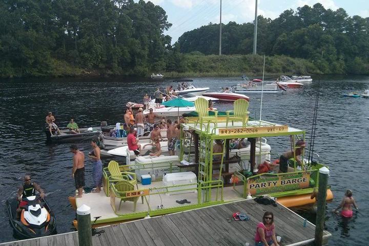 Pet Friendly Living Large Party Barge