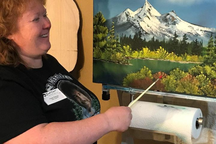 Pet Friendly Painting Bob Ross Style with a CRI