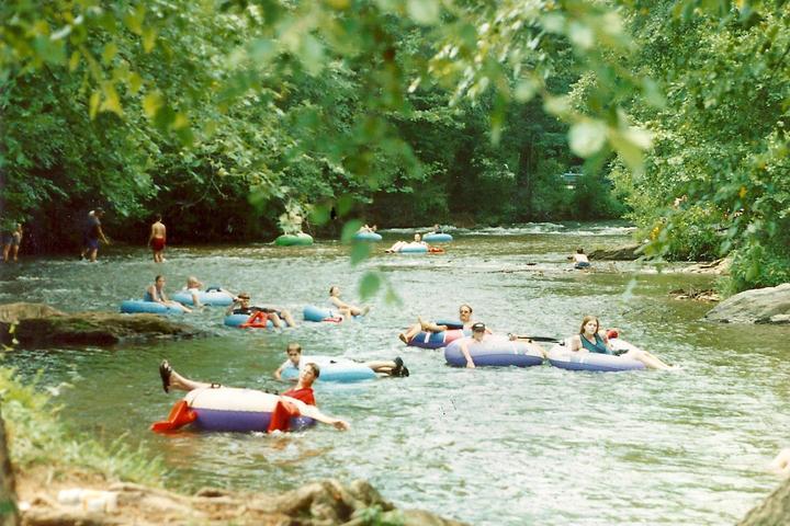Pet Friendly Cool River Tubing