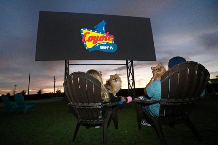 Pet Friendly Grand River Drive-In