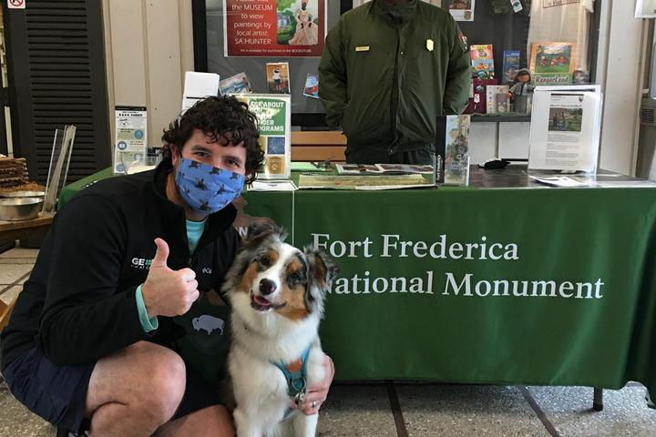 Pet Friendly Fort Frederica National Monument