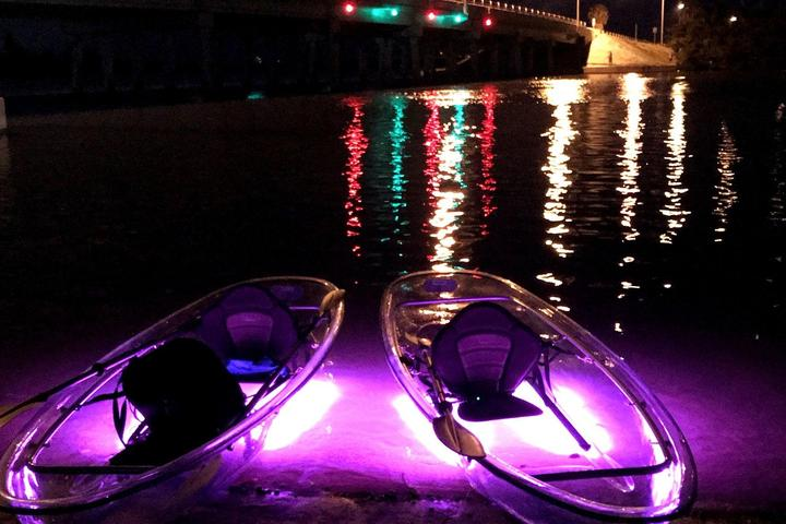 Pet Friendly Clear Kayak Glow Mangrove Tour