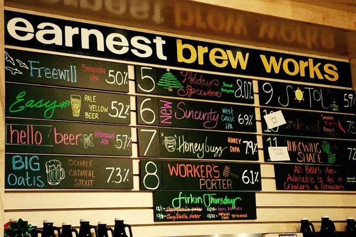 Pet Friendly Earnest Brew Works