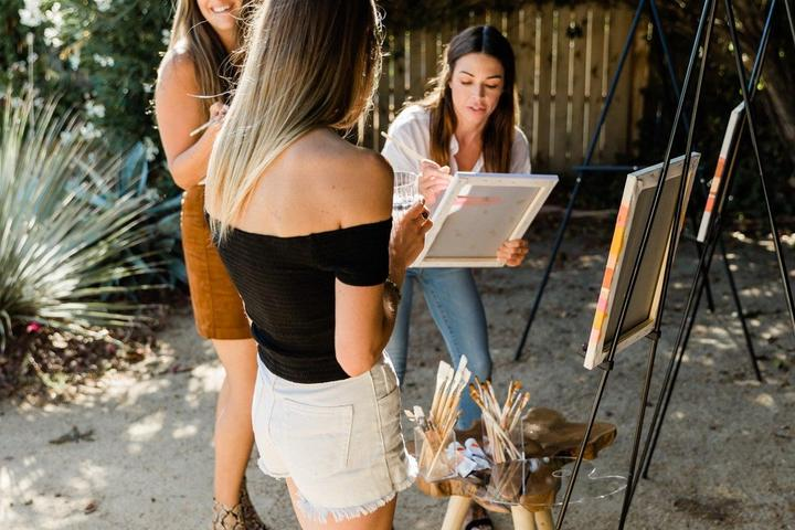 Pet Friendly Create an Abstract Landscape Painting