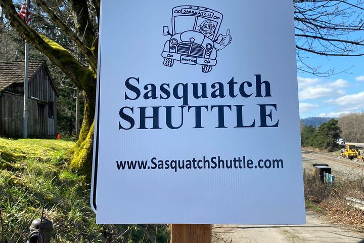 Pet Friendly Sasquatch Shuttle