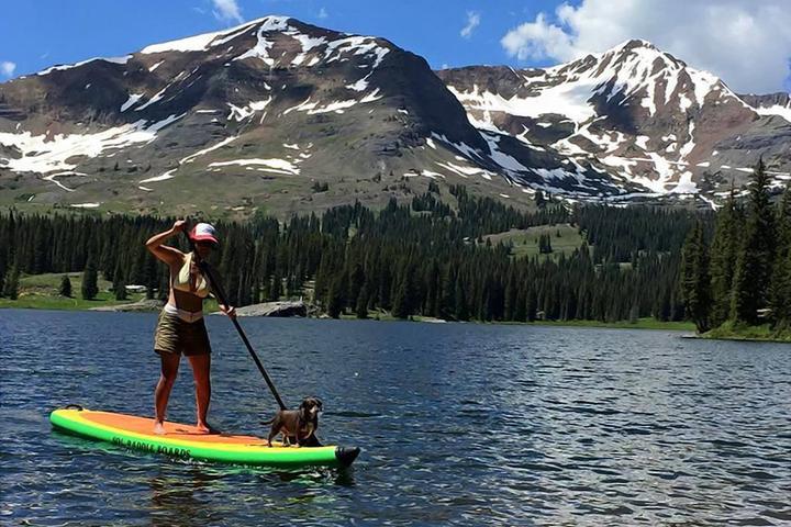 Pet Friendly Twin Lakes SUP & Cycle
