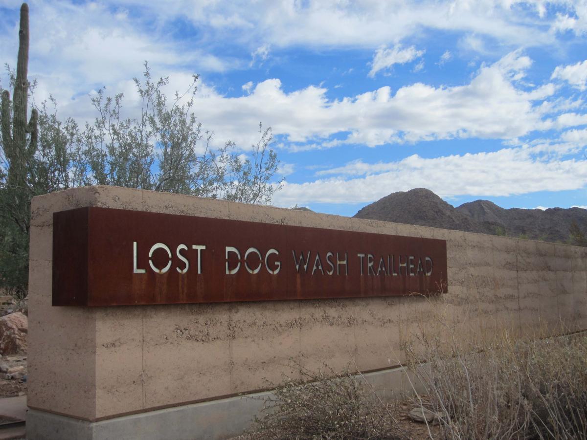 Lost dog wash trailhead solutioingenieria Image collections