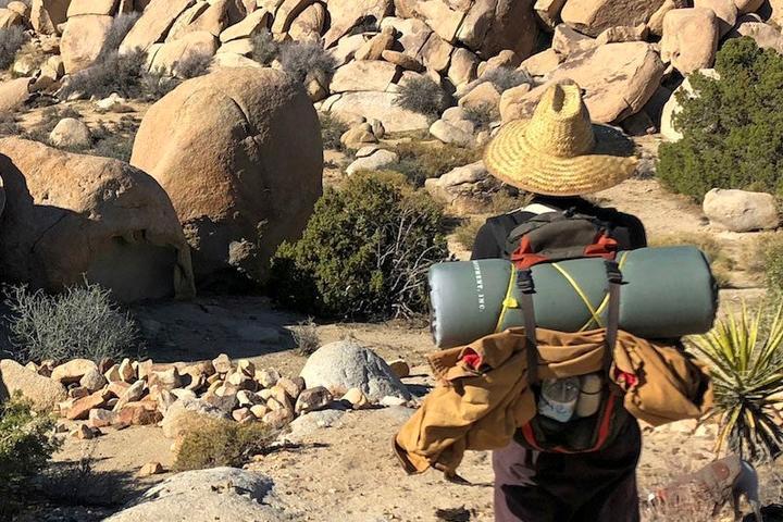 Pet Friendly Backpacking in the California Desert