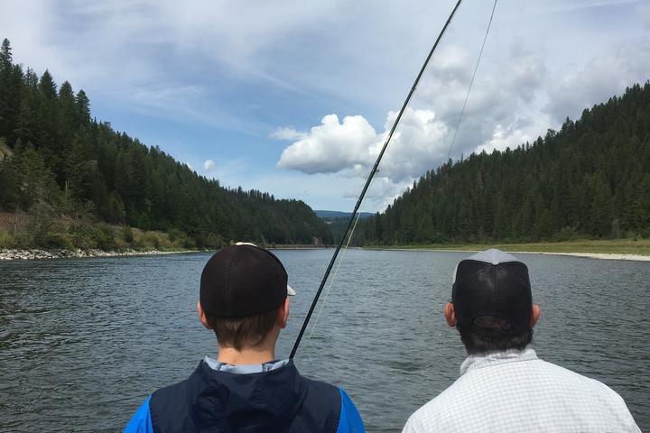 Pet Friendly Guided Fly Fishing Kootenai River