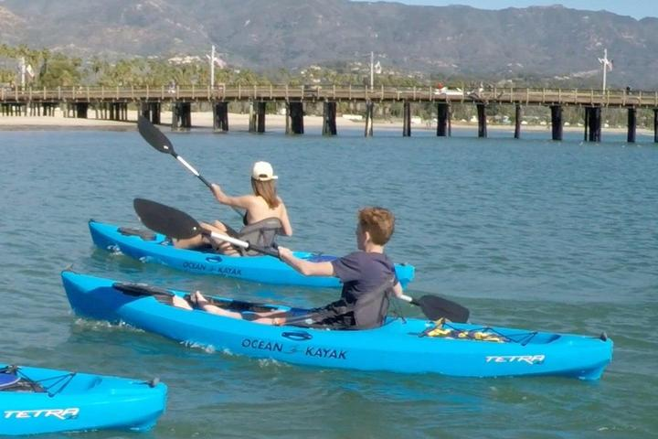 Pet Friendly Kayak the Coast of Santa Barbara