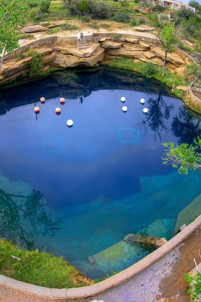 Blue Hole Recreation Spot