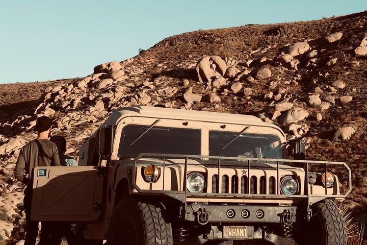 Pet Friendly 1.5-hour Wild West Humvee Tours in Pioneertown