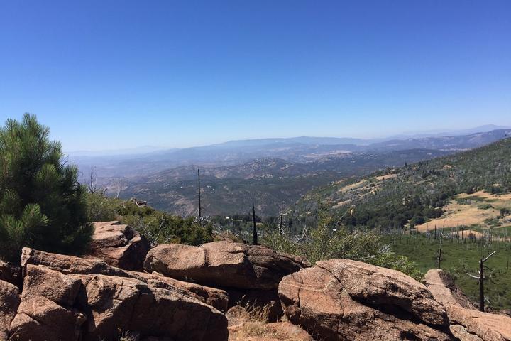 Pet Friendly Cuyamaca Peak Loop