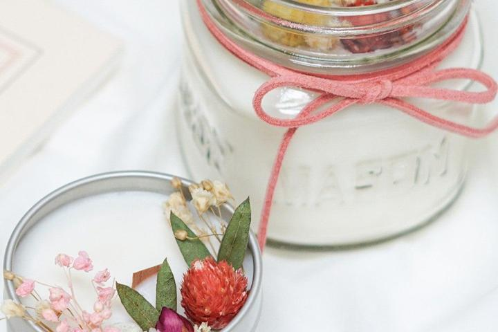 Pet Friendly Dried Flower Candle Making Workshop