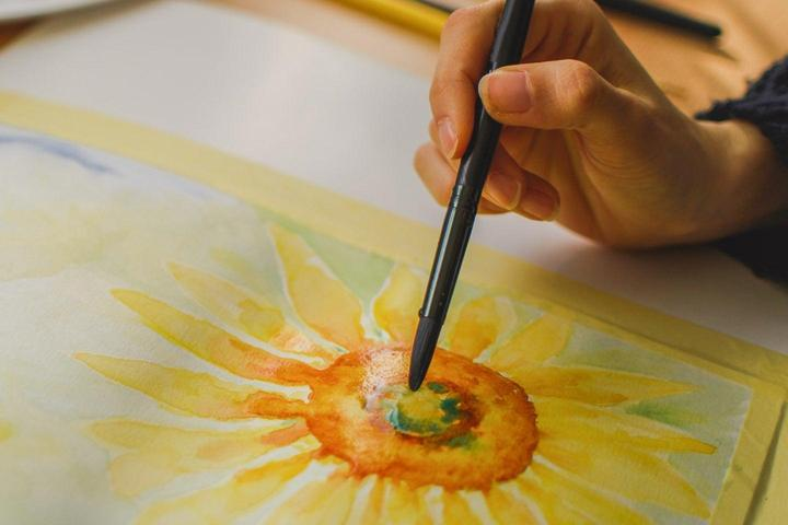 Pet Friendly Watercolor workshop on the waterfront!