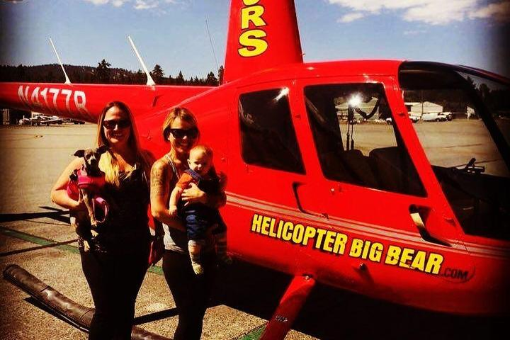 Pet Friendly Helicopter Big Bear