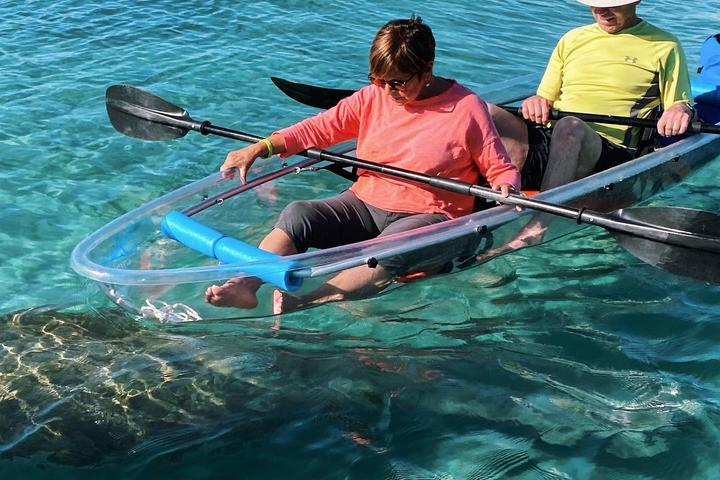 Pet Friendly Clear Kayak Tours Through Jupiter
