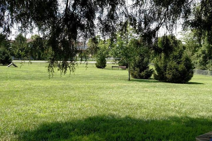 Pet Friendly Waggin' Tails Bark Park at Louis Jenn Memorial Park