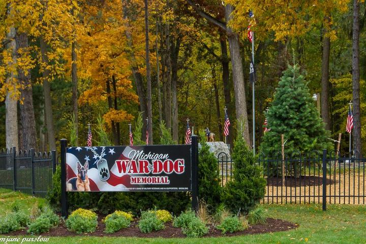 Pet Friendly Michigan War Dog Memorial