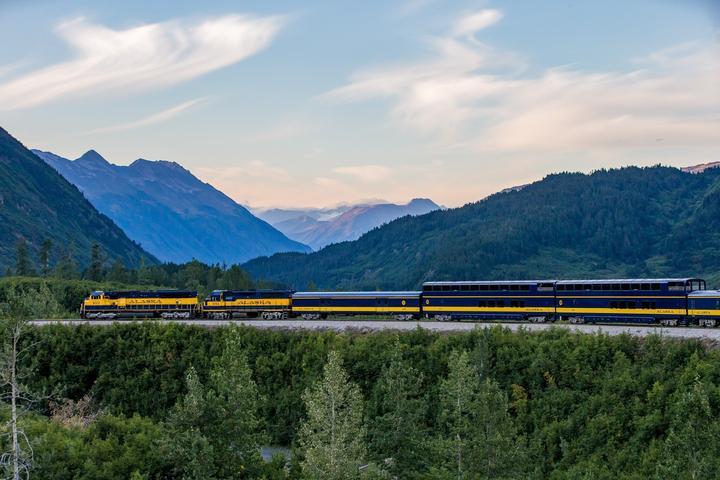 Pet Friendly Alaska Railroad