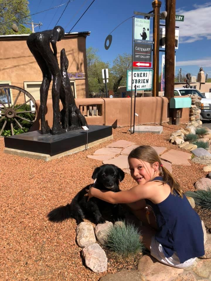 Visit pet-friendly art galleries like Canyon Road Contemporary in Santa Fe.