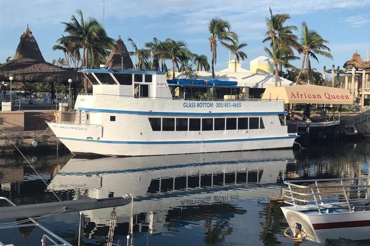 Pet Friendly Key Largo Princess Glass Bottom Boat
