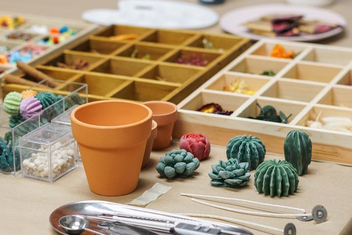 Pet Friendly Succulent Candle Making Workshop