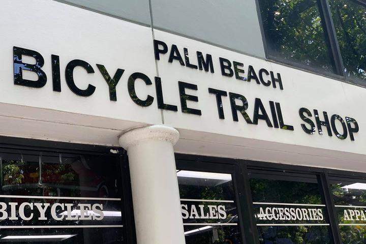 Pet Friendly Palm Beach Bicycle Trail Shop