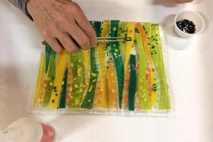 Pet Friendly Create A Fused Glass Plate At Home