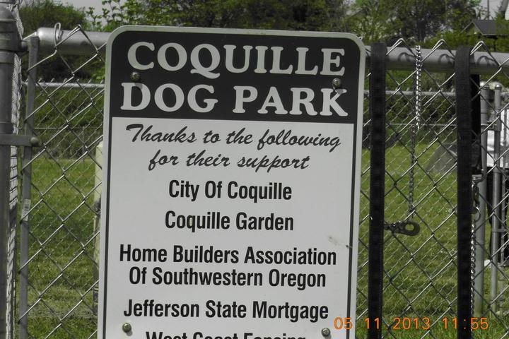 Pet Friendly Coquille Dog Park at Fifth St Park