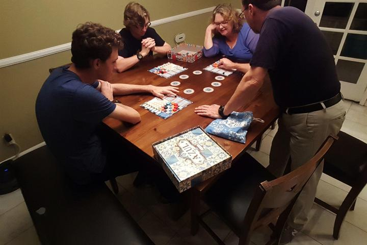 Pet Friendly Board Game Exploration with an Expert