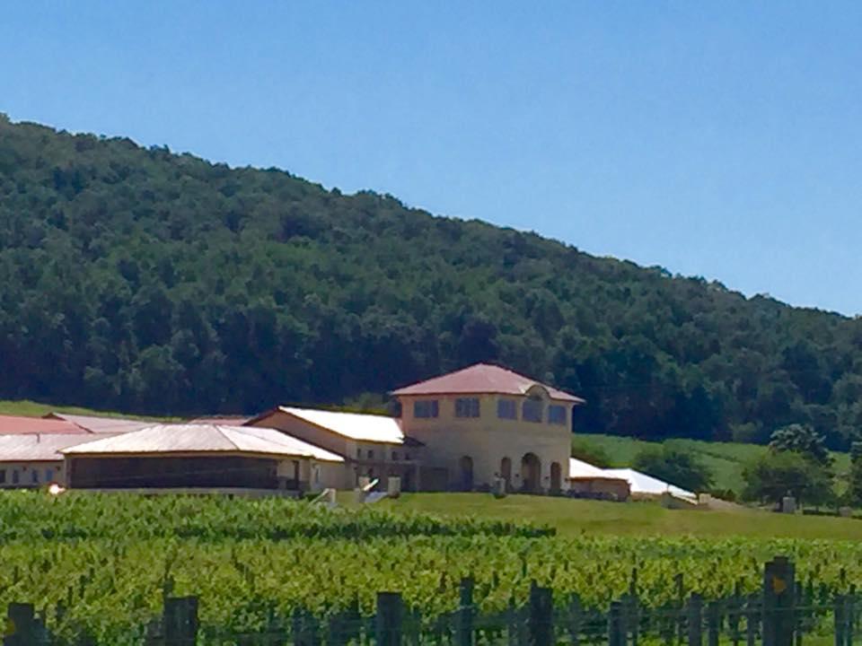 Beautiful wedding in loudoun county breaux vineyards