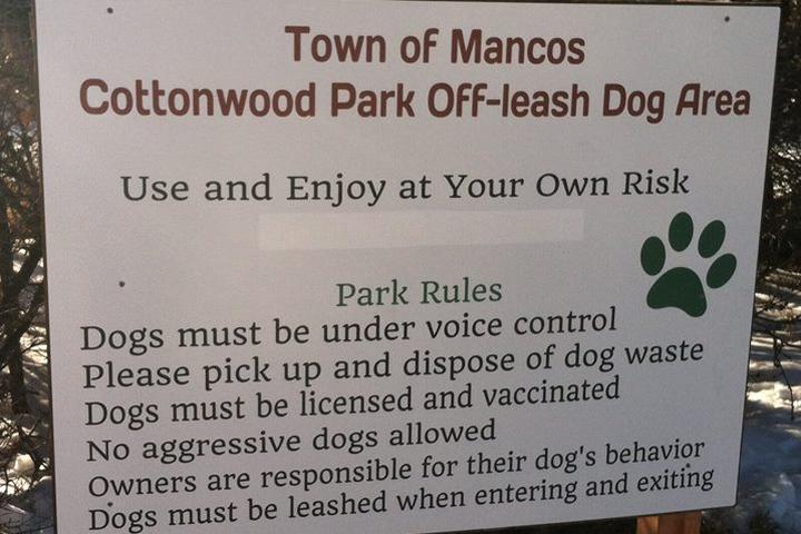 Pet Friendly Cottonwood Park Off-Leash Dog Area