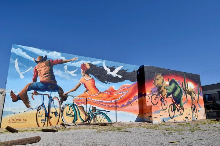 Pet Friendly Tucson Downtown Mural Tour