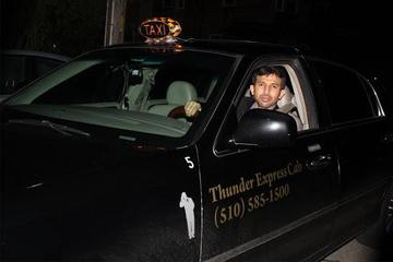 Pet Friendly Thunder Express Taxi Cab