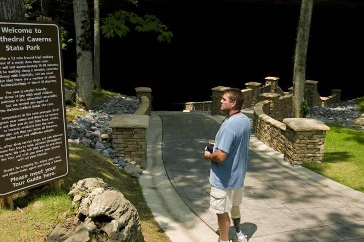 Pet Friendly Cathedral Caverns State Park